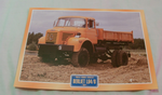 Berliet L64/8 1977 Public works Truck framed picture